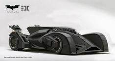 Dark Knight Rises Batmobile Concept