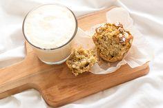 Chá das Cinco: Receita de muffins de banana, aveia e noz