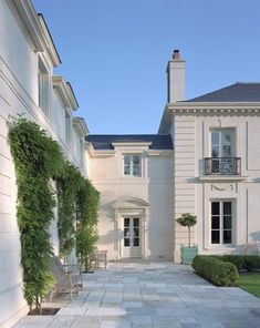 Inverness Residence - Curtis & Windham Inc. love these French doors French Architecture, Classical Architecture, Ancient Architecture, Sustainable Architecture, Landscape Architecture, Dream House Exterior, Dream Home Design, Facade House, House Goals