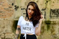 Cropped Hater WE7769
