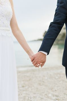 Photography: Ana Lui Photography - analuiphotography.com   Read More on SMP: http://www.stylemepretty.com/destination-weddings/spain-weddings/2015/11/28/traditional-church-wedding-romantic-beachside-reception-2/