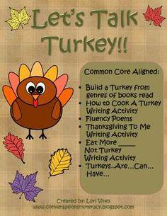 LET'S TALK TURKEY! - TeachersPayTeachers.com