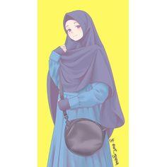 trendy Ideas for cartoon art girl sketches anime Pelo Anime, Anime Manga, Muslim Girls, Muslim Women, Anime Art Girl, Anime Girls, Tangled Concept Art, Hijab Drawing, Islamic Cartoon