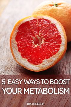 Get a metabolism boost at every meal with these 5 foods ~ From Birtchbox
