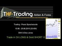 Strandbad oder Aktienhandel ? - Oil & Gold Traden, Dax & Dow Jones in de...