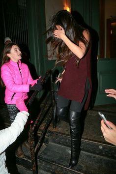 Selena Gomez Photos: Selena Gomez Out Late in NYC