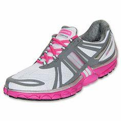 Women's Brooks PureCadence 2 Running Shoes  FinishLine.com   White/Neon Magenta/Pavement