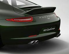 Porsche 911 Club Coupe (© Porsche)