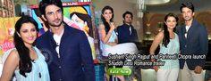 Sushant Singh Rajput and Parineeti Chopra launch Shuddh Desi Romance trailer