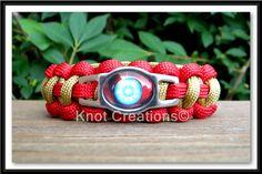 Iron Man Paracord Bracelet Custom Handmade-Wrist Measurement REQUIRED Please Read Listing Details on Etsy, $16.50