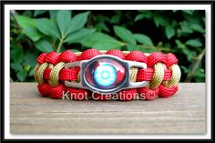 Iron Man Paracord Bracelet Custom Handmade-Wrist Measurement REQUIRED Please Read Listing Details