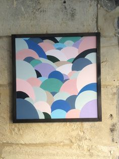 Abstract 1 by Kirstie Jackson and Original Acrylic on Canvas