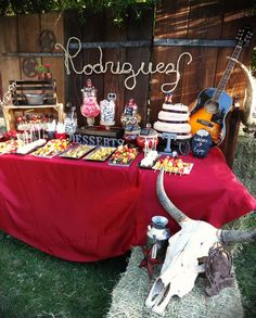 Western/Cowboy Birthday Party Ideas | Photo 1 of 7 | Catch My Party