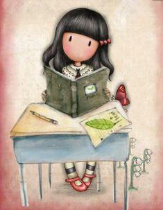 Gorjuss Sarah Kay, Cool Sketches, Vintage Artwork, Cute Art, Cute Images, Cute Pictures, Cute Drawings, Altered Art, Cute Cartoon