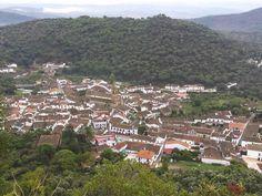 Alájar desde la Peña de Arias Montano. Sierra de Aracena