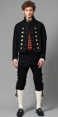 Norwegian mens fashion 1888 - Google Search