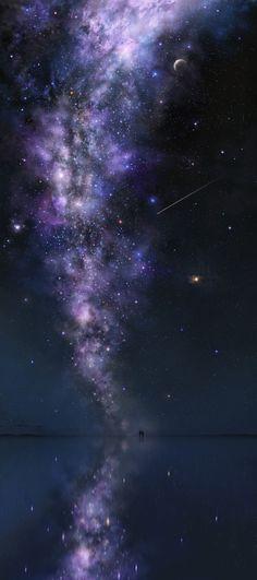 星空の下で - ツジキ - pixiv
