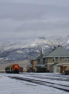Nevada Northern railroad, Mystery Train - Ely, Nevada