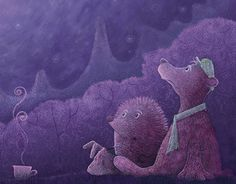 "Check out new work on my @Behance portfolio: ""Hedgehog in the Fog"" http://be.net/gallery/53391933/Hedgehog-in-the-Fog"