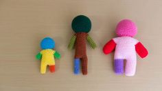 人型あみぐるみ素体の編み方 Crochet Toys, Knitting, Kids, General Crafts, Hairstyle Tutorials, Amigurumi, Toddlers, Boys, Tricot