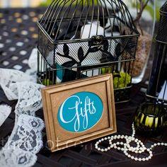 Vintage Wedding Gift Table