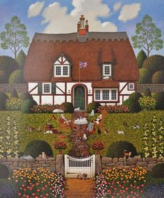 Charles Wysocki Limited Edition Prints | about Charles Wysocki Bach's Magnificat in D Minor Limited Edition ...
