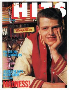 Suggs on the cover of Smash Hits Fun Boy Three, Kirsty Maccoll, Terry Hall, Paul Weller, Elvis Costello, Rude Boy, Phil Collins, Northern Soul, Rockn Roll