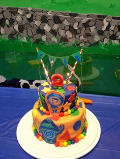Team Umizoomi Birthday Cake.  Boy birthday.  2nd birthday.  Geo and Bot