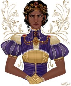 Josephine - it would've been nice if everyone at the Winter Palace had different dressings instead of the same outfit. Don't you guys think?