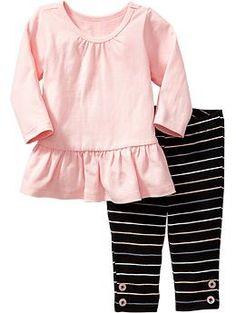 Long-Sleeved Tunic & Leggings Sets for Baby