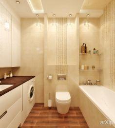 Дизайн ванной в морском стиле: интерьер, квартира, дом, санузел, ванная, туалет, современный, модернизм, 10 - 20 м2 #interiordesign #apartment #house #wc #bathroom #toilet #modern #10_20m2 arXip.com