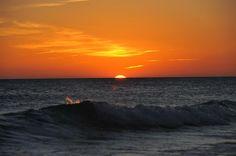 Coucher de soleil sur la plage de Zahara de los Atunes, Cadix - Costa de la Luz