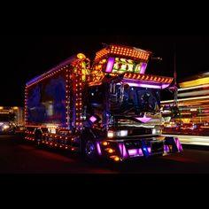 Trivia: Dekotora, only in Japan Custom Trucks, Custom Cars, Las Vegas Slots, Ae86, Oem Parts, Retro Futurism, Custom Paint, Trivia, Vehicles