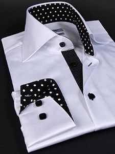 the power of black and white still rocks he crowd Mens Shirt Pattern, Corporate Shirts, Formal Shirts For Men, Men Shirts, Mode Masculine, Mens Designer Shirts, African Clothing For Men, Stylish Shirts, Mens Fashion Suits
