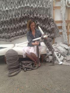 Jacqui Fink knitting @little dandelion