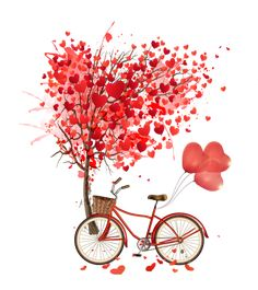 Heart-shaped balloons Vector, Heart-shaped, Vector Heart, Trees PNG and Vector Flower Wallpaper, Wallpaper Backgrounds, Buch Design, Bicycle Art, Love Stickers, Vector Shapes, Cute Drawings, Cute Wallpapers, Heart Shapes