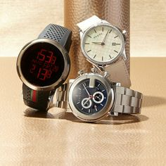 Dial it up with designer watches.