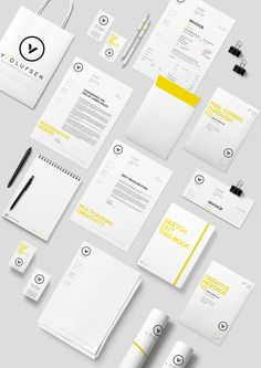 Stationery and packaging concept for my own studio. It's designed to be minimalistic, recognizable and playful without competing or stealing too much attention from the projects it's meant to contain or present.