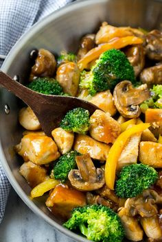 This garlic chicken stir fry is a quick and easy dinner that's perfect for those busy weeknights. Cubes of chicken ...