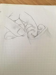 New Drawing People Hands 16 Ideas New Drawing People Hands 16 Ideen Pretty Drawings, Amazing Drawings, Cool Art Drawings, Pencil Art Drawings, Doodle Drawings, Disney Drawings, Art Drawings Sketches, Drawing Disney, Pencil Art Love