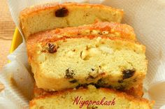Niya's World: Sponge Cake (made of mixed fruit juice and less butter)