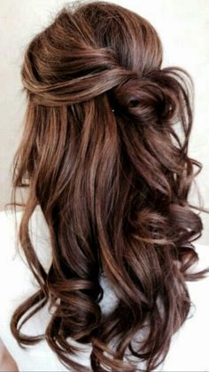Hair♥ warm brown with touch of red  ★