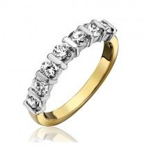 Diamond Eternity Ring - 18ct gold 0.18cts.