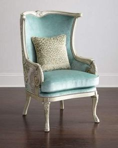 Massoud Silver Damask Chair Silver Damask Chair by Massoud at Neiman Marcus. The post Massoud Silver Damask Chair appeared first on Upholstery Ideas. Shabby Chic Furniture, Cool Furniture, Living Room Furniture, Furniture Design, Handmade Furniture, Luxury Furniture, Dining Rooms, Chair And Ottoman, Wingback Chair