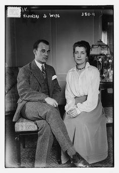 Nijinsky and wife Romola 1916