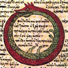 Ouroboros: continuous destruction leading to continuous renewal. I have this on left inner arm.