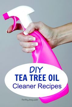 With these DIY Tea Tree Oil Cleaner Recipes you can make your own natural cleaners that kill 99.9% of household germs without harmful chemicals.