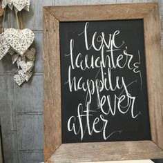 Sign Writing, Chalkboard Quotes, Art Quotes, Signage, Wedding, Casamento, Weddings, Marriage, Signs