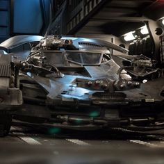 Justice League New Batmobile Weapons