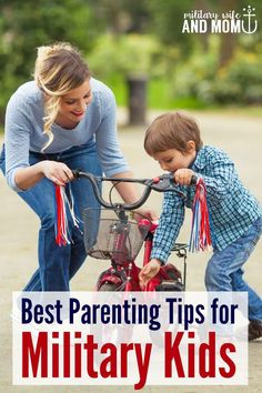 Really helpful ideas for parenting military kids during deployment!